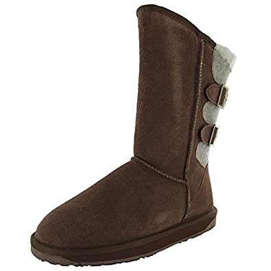 Amazon.com | BooRoo Womens Kit Suede Winter Snow Boot Shoe