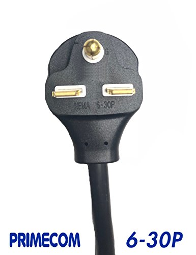 PRIMECOM Level-2 Electric Vehicle Charger 220 Volt 30', 35', 40', and 50' Feet Lengths (6-30P, 30 Feet) by PRIMECOM (Image #1)