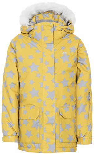 Trespass Tillie Girls Waterproof Hooded Jacket Winter Warm Padded Raincoat by Trespass