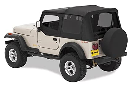 Amazoncom Bestop 51180 15 Jeep Wrangler Replace A Top Soft