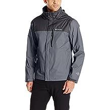 Columbia Men's Pouration Waterproof Rain Jacket