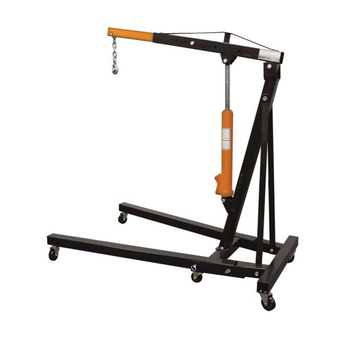 (Offex 2 Ton Space Saver Engine Hoist for Moving and Positioning Bulky)