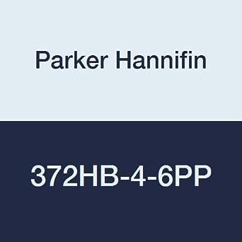 Parker Hannifin 372HB-4-6PP-pk20 Par-Barb Male Branch Tee Fitting Polypropylene Black 1//4 Hose Barb x 3//8 Male NPT Pack of 20