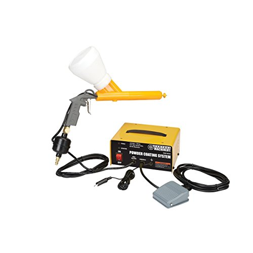 Chicago Electric Power Tools Portable Powder Coating System 10-30 PSI