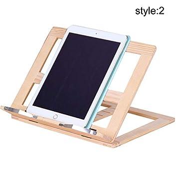 Symbol-Rahmen zum Lesen, aus Holz, Tablet-Halterung ...