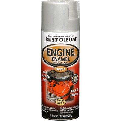 11 Oz Cast Coat Aluminum Engine Enamel Spray Paint 248953 [Set of 6]