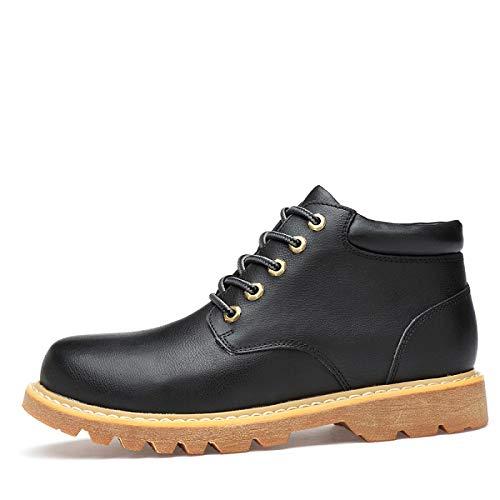 FHCGMX Winter Schnee Stiefel mit echtem Leder männliche Schuhe Schuhe Schuhe für männer Erwachsene Mode Bequeme Turnschuhe Herren Schuhe 86d020