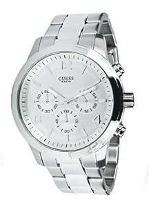 Guess Spectrum W12605L1 - Reloj de mujer de cuarzo, correa de acero inoxidable, color plata