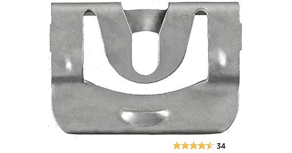 25 pcs GM Self Tap Windshield /& Rear Window Trim Molding Clip Screws #219