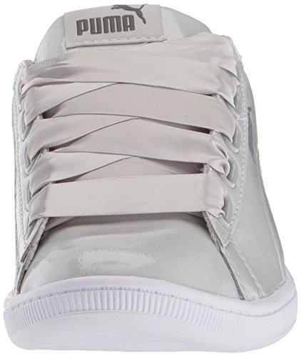 P Violet Puma gray Ribbon Gray P Violet Vikky Donna wqEUBR