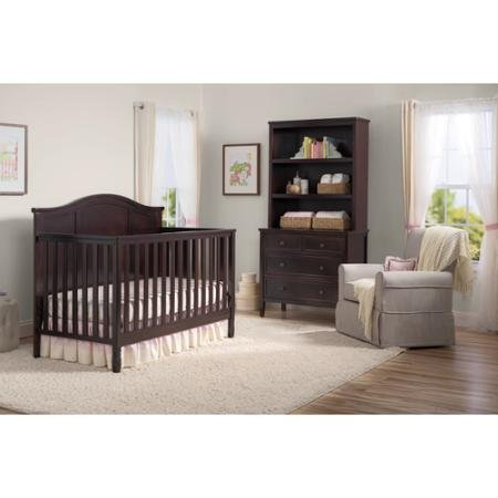 Delta Children Madrid 4-in-1 Fixed-Side Convertible Crib