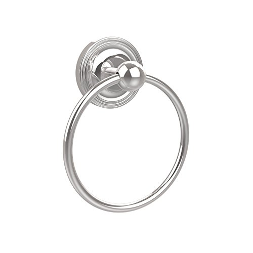 - Allied Brass PR-16-PC Prestige Regal Collection Towel Ring, Polished Chrome
