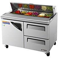 Turbo Air (TST-48SD-D2) - 49 Sandwich/Salad Prep Table - Super Deluxe Series