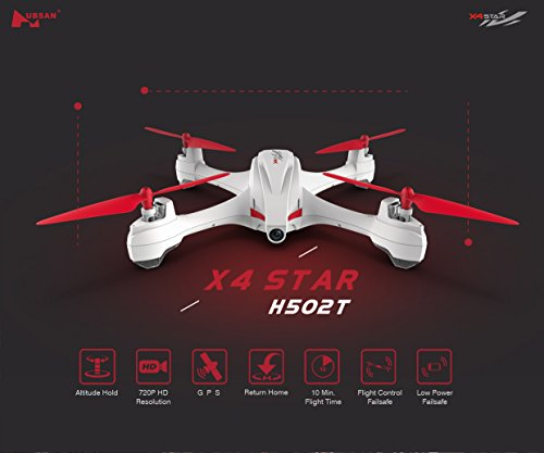 Hubsan H502T Quadcopter Drone Camera