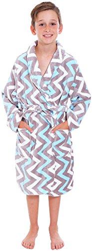 Simplicity Childrens Long Sleeved Bathrobe Pockets