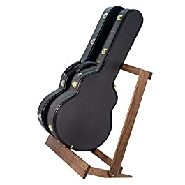 String Swing Walnut Guitar Case Rack for Electric and Acoustic, CC29-BW