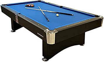 Buckshot Mesa de Billar 8ft Manhattan (244x132cm) - Billar Americano - Pool 8 ft - 130kg - Retorno de Bolos ...