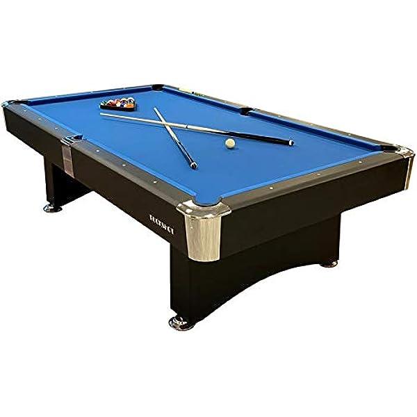 Buckshot Mesa de Billar 7ft Manhattan (213x122cm) - Billar Americano - Pool 7 ft - 110kg - Retorno de Bolos Automático - Accesorios Incluidos: Amazon.es: Deportes y aire libre