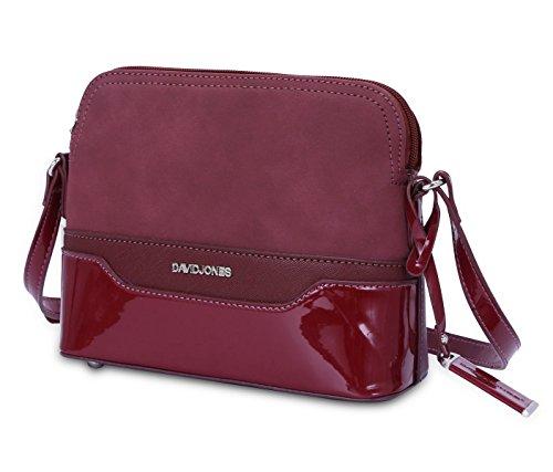 1 Grey GRIS Body Wine Bag Jones One Red 5808 Cross Size Gray David Women's qnWt81p6