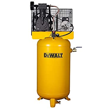 DeWalt DXCMV5048055 Two-Stage Cast Iron Industrial Air Compressor, 80-Gallon