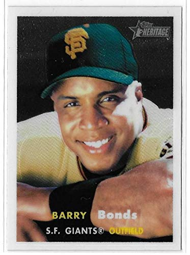 2006 Topps Heritage #50 Chrome Barry Bonds /1957
