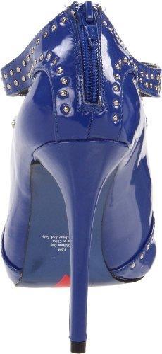 Nuovo Sandalo T-strap Da Donna Di Luichiny Blu