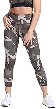 Green Camo, Large//X-Large INGEAR Womens Active 3//4 Capri Joggers Sweatpants Athletic Yoga Lounge Capris with Pockets