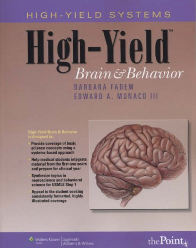 High-Yield™ Brain and Behavior (High-Yield Systems Series) -