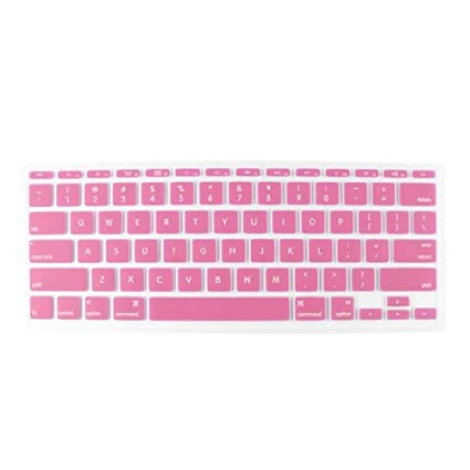 eDealMax Rosa Claro teclado portátil Protector de la película Para Apple MacBook Air DE 11,