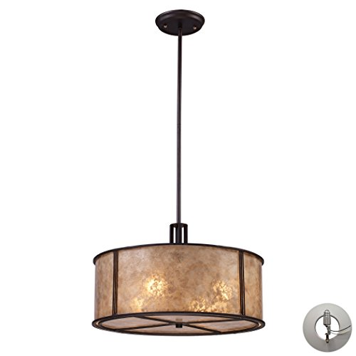Antique Bronze Recessed To Pendant Light Conversion Kit