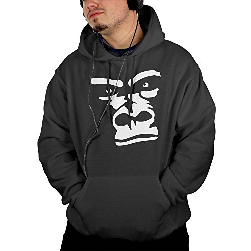 Price comparison product image NHTRGB Gorilla Face Drawing Men Funny Fashion First Quality Cool Hoodies