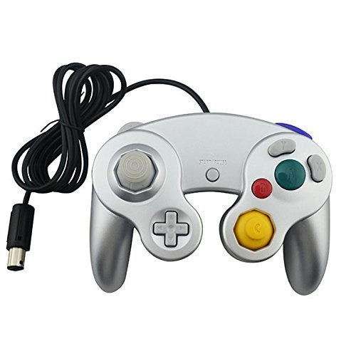 ller With One Button for Nintendo GameCube Silver (Gamecube Controller Buttons)