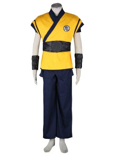 Dragon Ball Movie Goku Cosplay Costume, Male-Medium