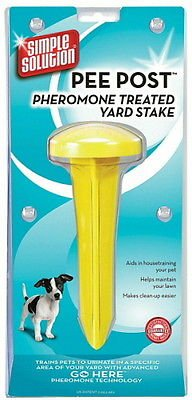 Simple Solution Pee Post Pheromone Treated Yard Stake (Lawn Gnome Costume)