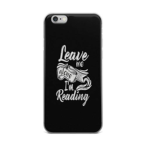 iPhone 6 Plus/iPhone 6s Plus Case Clear Anti-Scratch Fangirl, Leave me Alone - I'm Reading! Cover Phone Cases for iPhone 6 Plus iPhone 6s Plus -