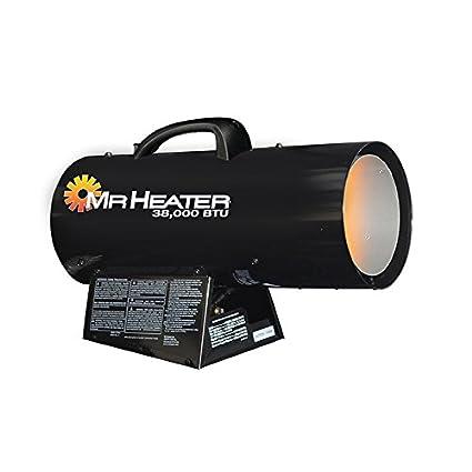 Forced Air Propane Heater >> Amazon Com Mr Heater 38 000 Btu Forced Air Propane Heater F271350