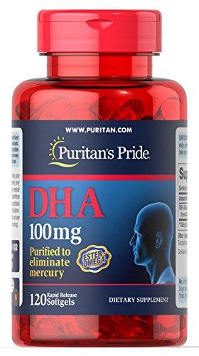 DHA 100 Mg - 120 Softgels