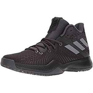 Adidas Men's Mad Bounce Basketball Shoe, Utility Black/Core Black/Grey Four, 10 M US