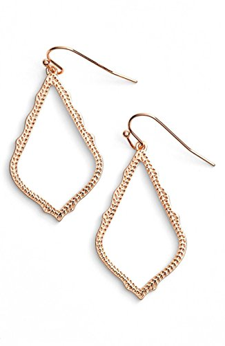 Kendra Scott Signature Sophia Drop Rose Gold Earrings