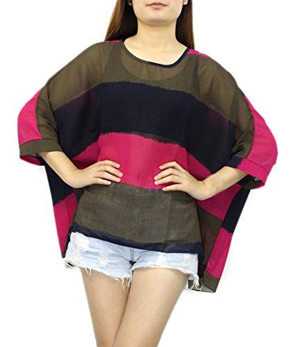 Landove - Camiseta - Túnica - manga 3/4 - para mujer patrón 20