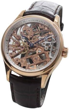 [アエロ] AERO スケルトン 手巻き式 ユニタス6497 腕時計 A50981R101 [正規輸入品]
