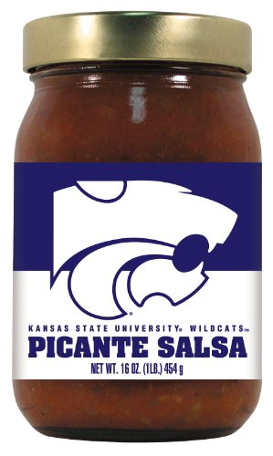 Wildcats Picante Salsa (12 Pack KANSAS STATE Wildcats Picante Salsa)