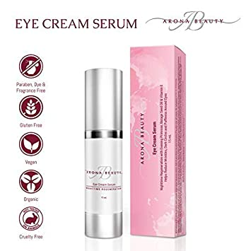 Arona Beauty Anti-Aging Eye Cream Serum, 15ml