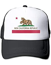 Waldeal Trucker Hats for Men Women New California Republic Baseball Hat Cap