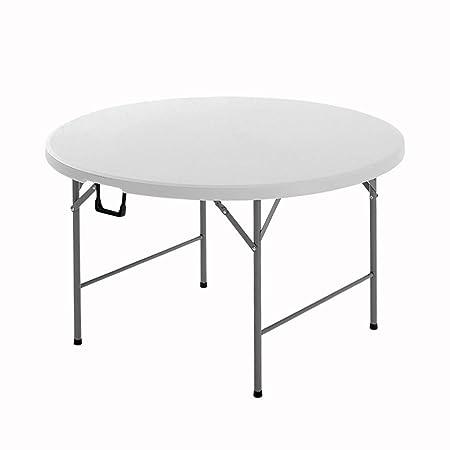 Folding table Mesas de Picnic Mesa Plegable Tubo De Acero ...
