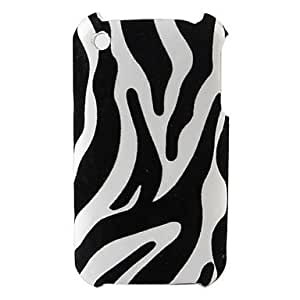 CeeMart Zebra Stripe Pattern Hard Case for iPhone 3G and 3GS (Multi-Color) by ruishername