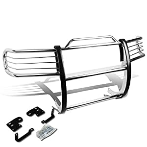 DNA Motoring GRILL-G-049-SS Front Bumper Brush Grille Guard [For 98-01 Nissan Frontier/Xterra]