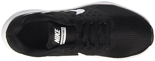 Zapatillas Running Wmns 7 Mujer para de Nike White Anthracite Black Downshifter Negro pXxT1qw