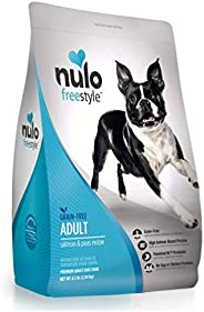 Nulo Adult Grain Free Dog Food: All Natural Dry Pet Food for Large and Small Breed Dogs, Lamb, Salmon, or Turk