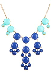 Jane Stone 2013 Fashion Necklace Bubble Bib Necklace Bib Statement Nacklace(Fn0508)
